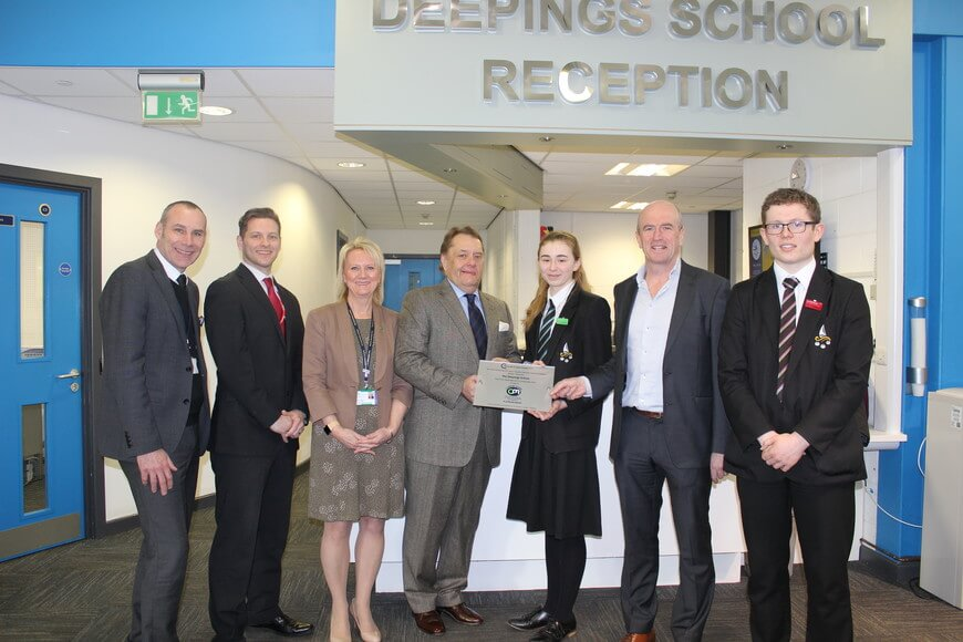 The Deeping Schools achieve Career Mark Platinum Quality in Careers Standard